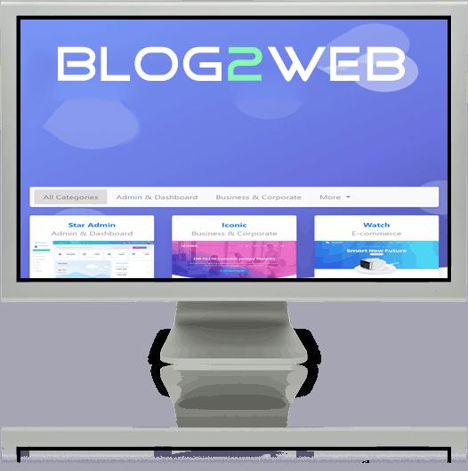 BLOG2WEB - Diseño web para tu negocio - Imagen 03. Cabecera. Imagen 01.