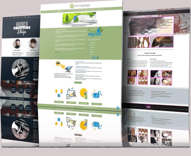 BLOG2WEB - Consulta nuestro️ portfolio de diseños de páginas web. Cabecera.