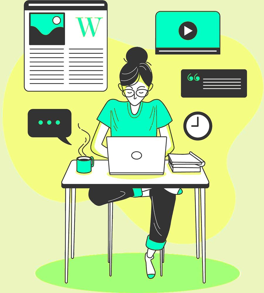 BLOG2WEB - Agencia de diseño y desarrollo web - Blogs. Cabecera.