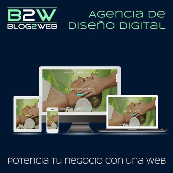 BLOG2WEB - Agencia de diseño web y diseño gráfico - Imagen destacada