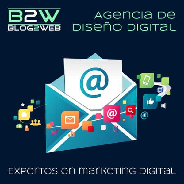 BLOG2WEB - Tu agencia de marketing digital y publicidad. Imagen destacada.