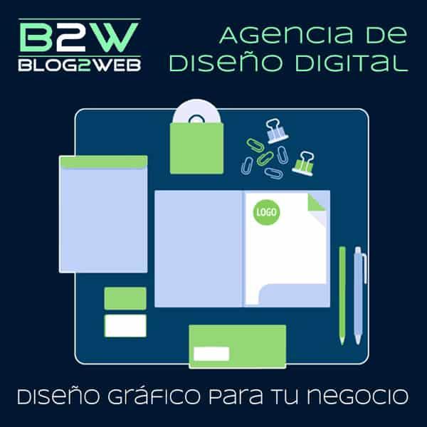 Estudio de diseño gráfico y publicidad - BLOG2WEB - Imagen destacada. Destacada.