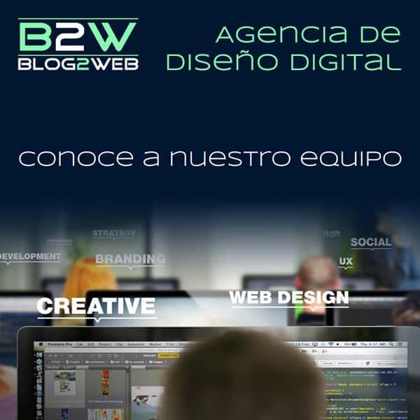 BLOG2WEB.️ Página con toda la información sobre nosotros. Destacada.