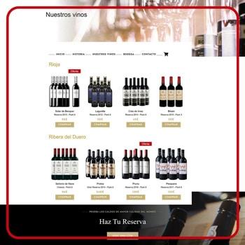 BLOG2WEB - Creación de tiendas online - Vinoteca - Tienda de venta de vino online. Imagen 05.. Imagen 02.
