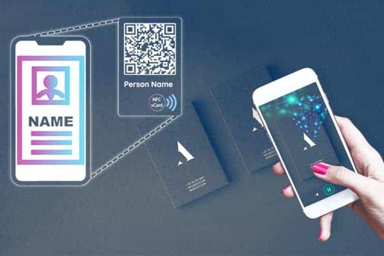 BLOG2WEB. Visita este artículo sobre diseño de tarjetas de visita virtuales. Imagen 02.