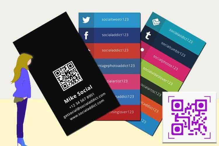 BLOG2WEB. Visita este artículo sobre diseño de tarjetas de visita virtuales vcard. Imagen 03.