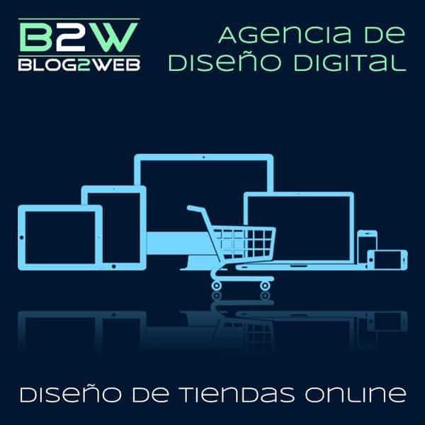 BLOG2WEB - Creación de tiendas online. Imagen destacada.